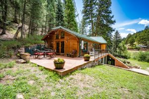 Log Cabin for Rent Colorado